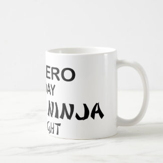 Salsero Ninja mortal por noche Taza De Café