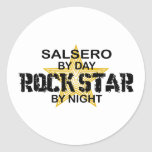 Salsero Rock Star by Night Sticker