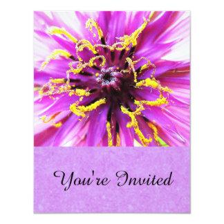 Salsify Flower Invitation