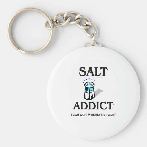 Salt Addict Keychains