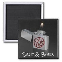 Salt and Burn Magnet