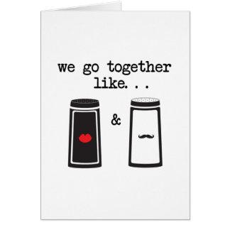 Salt and Pepper Card