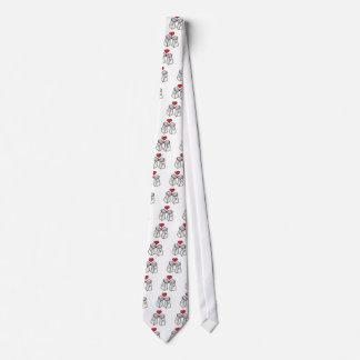 salt and pepper love tie