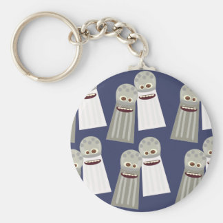 Salt and Pepper Poppin Pattern Keychain