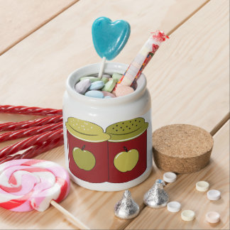 Salt and Pepper Shaker- Kitchen Love Candy Dish