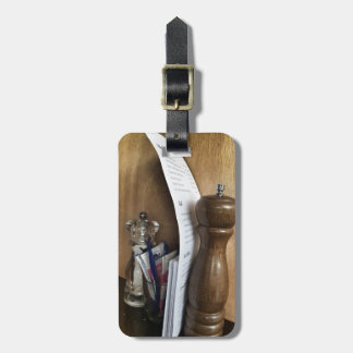 Salt And Pepper Shaker Luggage Tags
