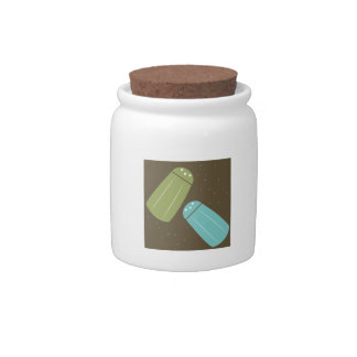 Salt And Pepper Shakers Candy Jar