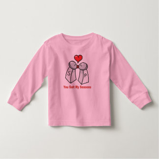 Salt and Pepper Shakers Valentine T Shirt