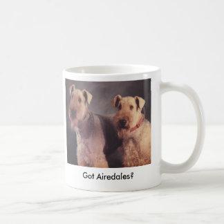 Salt and Ritz, Got Airedales? Coffee Mug