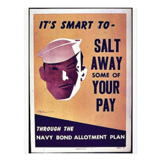 Salt Away Some Of Your Pay Flyer