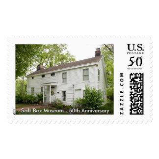 Salt Box Museum - 50th Anniversary Stamp