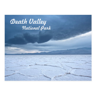 Salt Flats in Death Valley Post Cards
