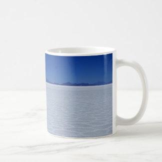 SALT FLATS CLASSIC WHITE COFFEE MUG