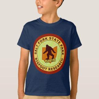 Salt Fork State Park Bigfoot Research T-Shirt