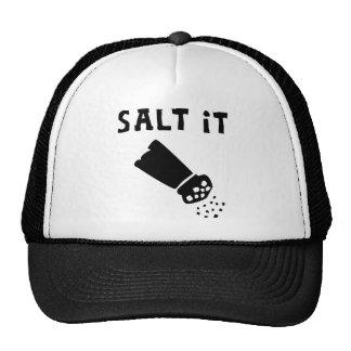 """Salt it"" Head Covering device with sun guard Trucker Hat"