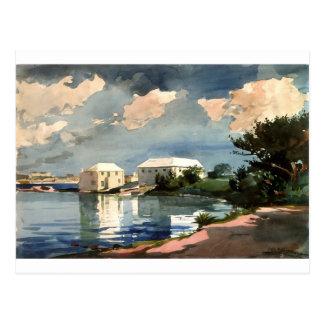 Salt Kettle, Bermuda by Winslow Homer Postcard