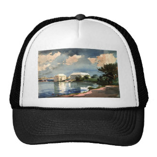 Salt Kettle, Bermuda by Winslow Homer Trucker Hat