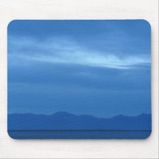 salt lake blue mouse pad