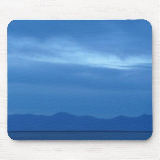 salt lake blue mousepad