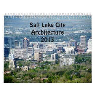 Salt Lake City Architecture Calendar 2013
