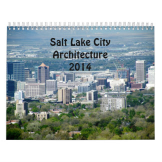 Salt Lake City Architecture Calendar 2014