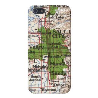 Salt Lake City Area iPhone 4 Case