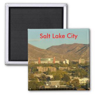 Salt Lake City Imán Cuadrado