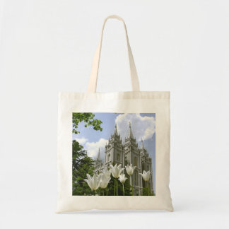 Salt Lake City Mormon Temple Canvas Bag