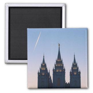 Salt Lake City Mormon Temple Magnet