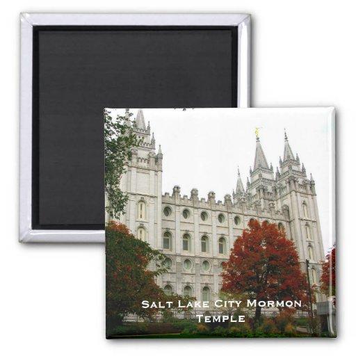 Salt Lake City Mormon Temple Refrigerator Magnet