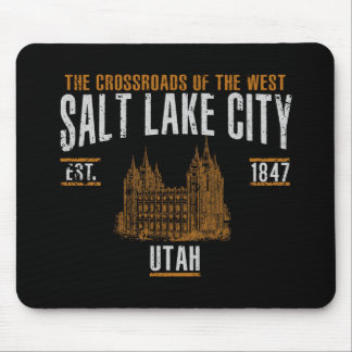 Salt Lake City Mouse Pad