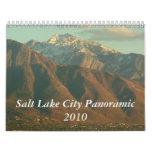 Salt Lake City Panoramic Calendar 2010