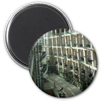 Salt Lake City Public Library 2 Inch Round Magnet