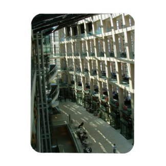 Salt Lake City Public Library Rectangular Photo Magnet