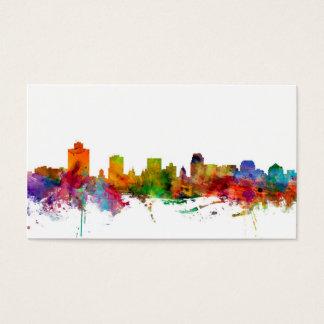 Salt Lake City Skyline Business Card