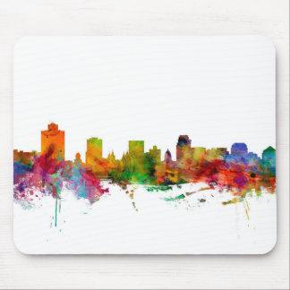 Salt Lake City Skyline Mouse Pad