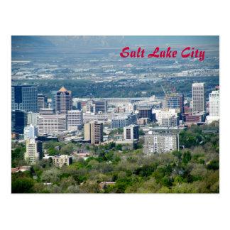 Salt Lake City Tarjeta Postal