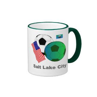 Salt Lake City Taza De Dos Colores