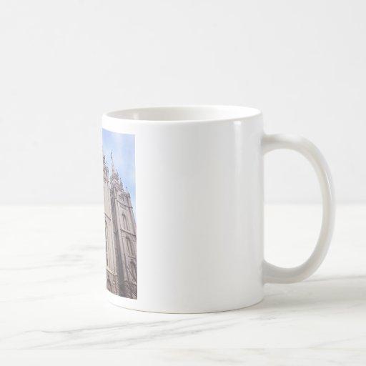 Salt Lake City Temple Classic White Coffee Mug