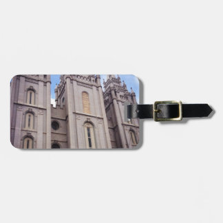 Salt Lake City Temple Tags For Luggage