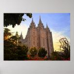 Salt Lake City, templo de LDS Posters