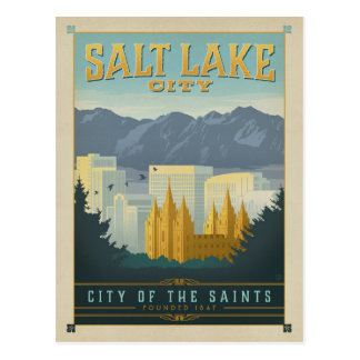 Salt Lake City, UT Postcard
