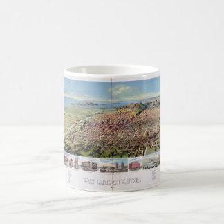 Salt Lake City, Utah (1891) Coffee Mug