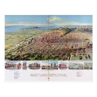 Salt Lake City, Utah (1891) Postcard