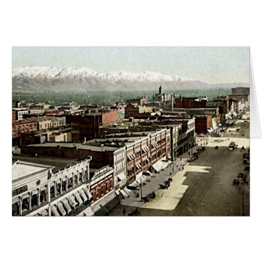 Salt Lake City, Utah Card