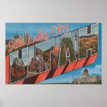 Salt Lake City, Utah - escenas grandes de la letra Impresiones