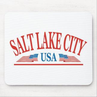 Salt Lake City Utah Mouse Pad