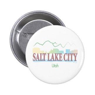 Salt Lake City,Utah Pinback Button