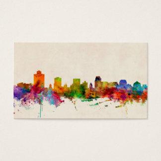 Salt Lake City Utah Skyline Cityscape Business Card