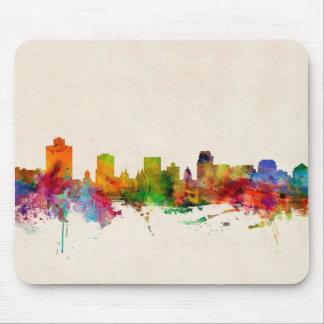 Salt Lake City Utah Skyline Cityscape Mouse Pad